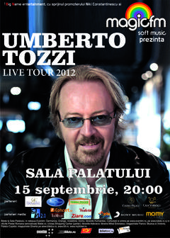 Concertul lui Umberto Tozzi de la Bucuresti a fost anulat