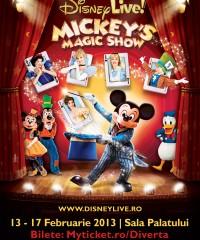 Disney Live! Mickey's Magic Show in premiera la Bucuresti