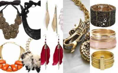 Bijuterii si accesorii in tendinte pentru revelionul 2012