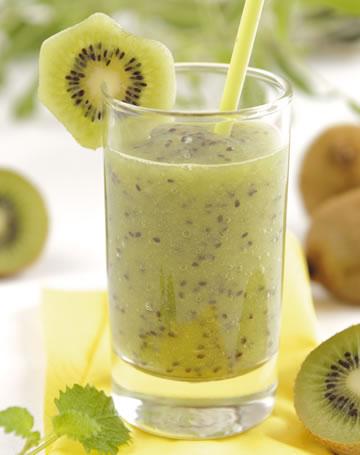 Smoothie de kiwi cu banana - un coktail ideal pentru sanatate