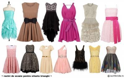 Alege rochia perfecta pentru petrecerea de sarbatori in functie de silueta. Plus IDEI DE TINUTE