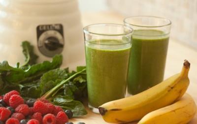 Shake de spanac si fructe
