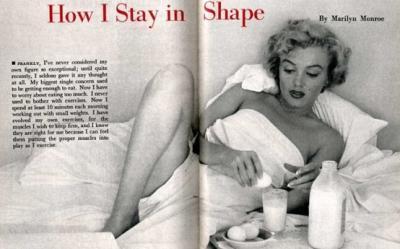 Dieta lui Marilyn Monroe