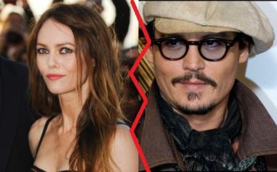 Vanessa Paradis si Johnny Depp, cel mai longeviv cuplu de vedete, s-au despartit dupa 14 ani