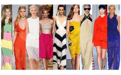 Ce culori se poarta in primavara si vara lui 2012