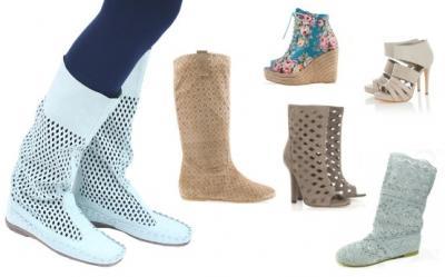 Ghete, botine si cizme de vara, tendinta hot pentru vara 2012