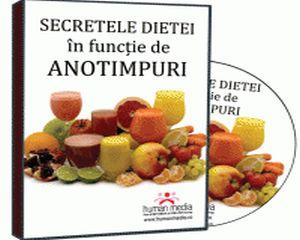 Dieta in functie de anotimpuri? Afla secretele de care depinde organismul tau!