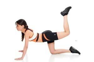 3 exercitii pentru fese ferme