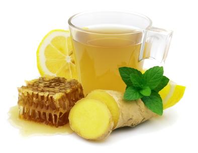 Limonada cu ghimbir si menta