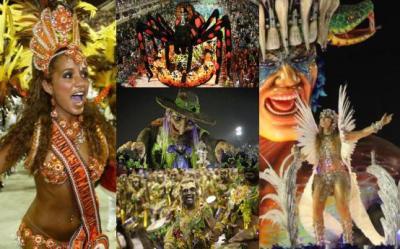 Carnavalul de la Rio de Janeiro 2012 - sarbatoare, nebunie, explozie de culoare (vezi galeria foto)
