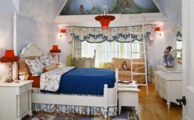 Idei pentru a inveseli camera copilului: tema decorativa, lumina, culoare si parfum