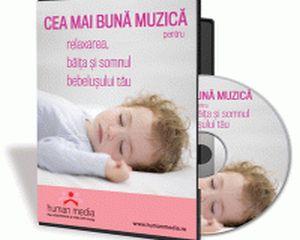 Muzica pentru bebelusi? S-a lansat CD-ul care iti tine copilul fericit!