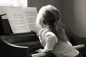 Pianul si copiii