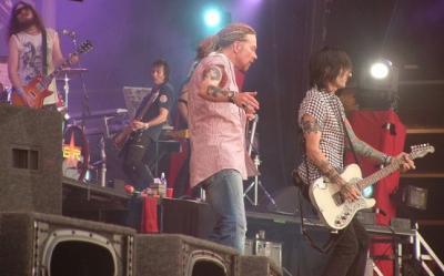 Guns N' Roses in iunie 2012 la Bucuresti