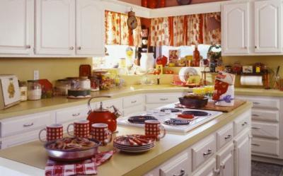 Ce culori sa alegi pentru peretii bucatariei