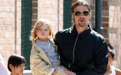 Brad Pitt, tatal: ''Sa fiu parinte este cea mai importanta aventura a vietii mele''
