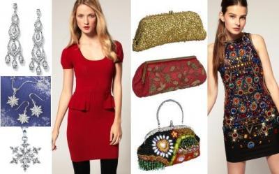 Tendinte Craciun 2011: Rochii, accesorii, pantofi pentru o petrecere la birou