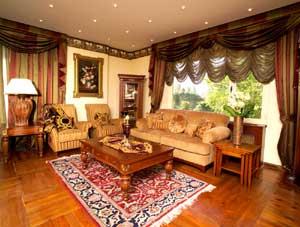 Design interior in stil romantic