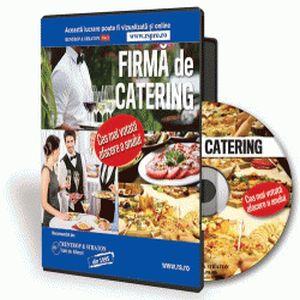 Deschide-ti firma de catering cat mai curand!