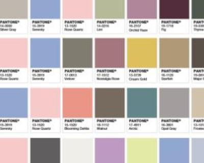 Rose Quartz si Serenity, culorile oficiale ale anului 2016