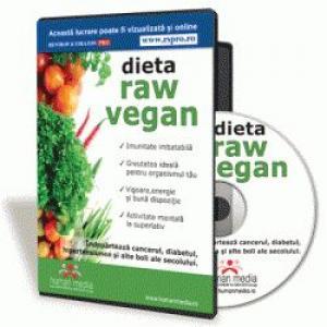 De ce este lumea atat de incantata de dieta raw vegan?