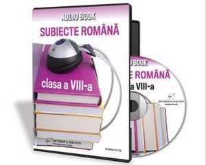 Audio Book - Subiecte la limba romana pentru admiterea la liceu!
