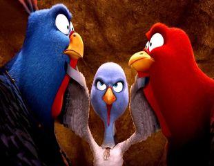 Pasari libere, filmul de animatie al anului