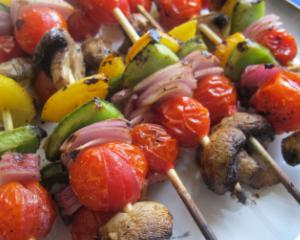 Frigarui de post cu ciuperci, ardei si rosii