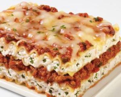 Lasagna vegetariana. O reteta speciala