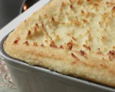 Reteta VIDEO: Piure de cartofi la cuptor