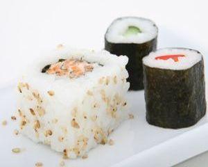 Dieta japoneza cu sushi