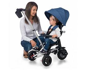 Hai la plimbare! 3 modele de triciclete care potolesc pofta de aventura a micutului tau