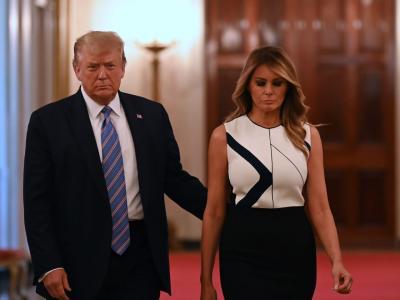 Donald si Melania Trump, confirmati cu Covid-19