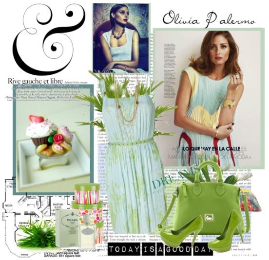 Olimpia Palermo - Exemplu asortare culori