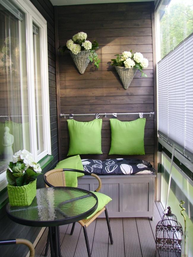 Amenajare balcon interior