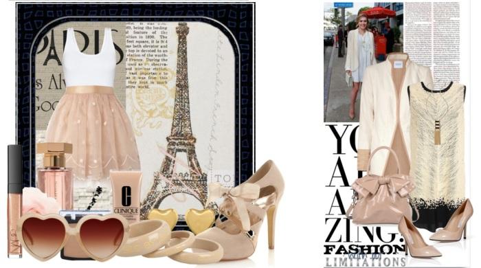 Pantofi nude moda parisiana
