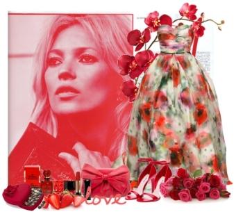 Rochie florala