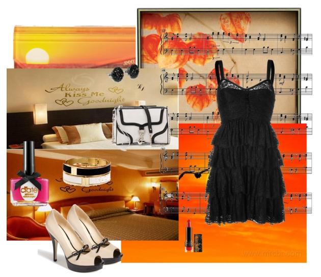 Pantofi si accesorii potrivite pentru rochie de seara culoarea neagra