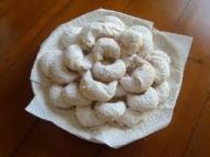 Cornulete cu vanilie pentru Craciun