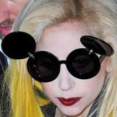 Lady Gaga si ochelarii de soare