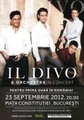 Concert Il Divo in Piata Constitutiei din Bucuresti