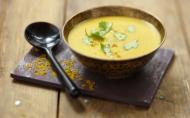 Supa vegetariana de linte