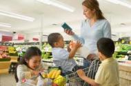 La cumparaturi cu copii mici