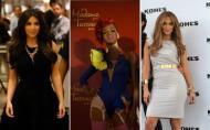 Ce vedeta are cel mai frumos... posterior din lume? Kim Kardashian, Rihanna sau Jennifer Lopez?