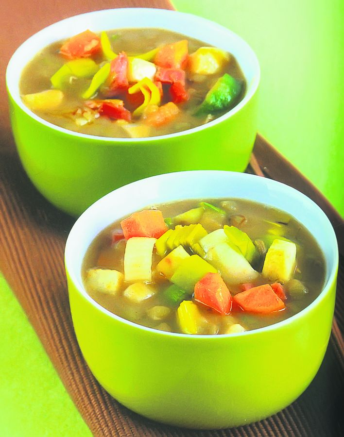 Reteta zilei: Supa delicioasa de legume