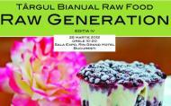 Targul Raw Generation, 25 martie 2012. Invitatie la alimentatie sanatoasa si produse naturale