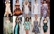 Tendinte in moda - Rochii pentru primavara-vara 2012