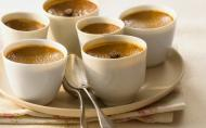Crema de cafea in bain-marie
