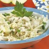 Salata de telina cu smantana