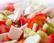 O salata inedita, cu beneficii reale pentru intregul organism!